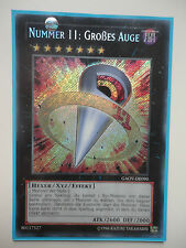 YGO NUMMER 11: GROßES AUGE GAOV-DE090 SECRET RARE  1.AUFLAGE