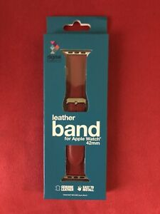 Apple 42mm Red Classic Buckle Band