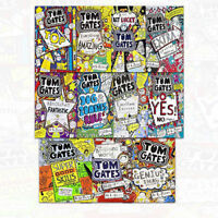 Tom Gates Collection 11 Books Set Excellent Ideas, A Brilliant World Liz Pichon
