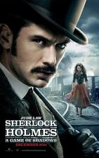 Sherlock Holmes poster (f) A Game Of Shadows movie poster - Jude Law