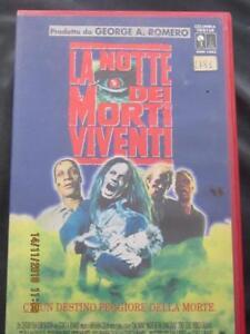 VHS La notte dei morti Viventi  1990