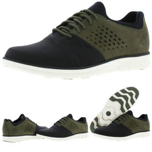 Timberland Bradstreet Men's Mixed Media Perforated Lace-Up Oxford Sneakers