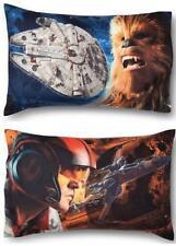 Star Wars Jedi  Reversibile Standard Pillow Case Kids Boys Free Ship New