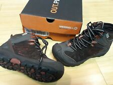 Merrell Boys Size 13 waterproof Capra Mid Hiker Boot Brown New in box MERRELL