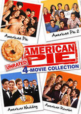 American Pie: Movie Collection - Unrated (DVD, 2014, 4-Disc Set, Unrated)