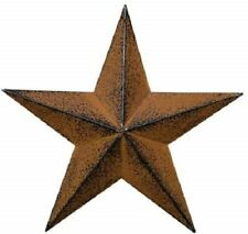 Distressed Country Metal Barn Star Primitive Wall Décor 4th of July Decoration