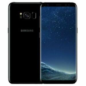 Samsung Galaxy S8 SM-G950F - 64GB - Midnight Black (Unlocked) Smartphone (Dual S