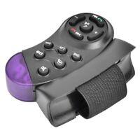 Control Remoto InaláMbrico de Volante Universal 11 Botones para Reproductor A2N2