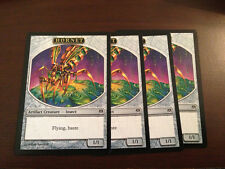 Magic the Gathering HORNET TOKEN Playset 4x MTG Duel Deck Phyrexia vs Coalition