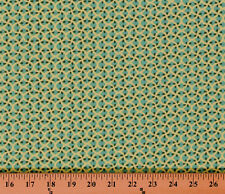 Cotton Amy Butler Glow Pip Zest Aqua Lime Cotton Fabric Print by Yard D405.14