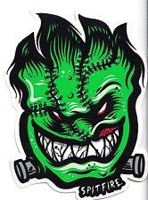 SPITFIRE FRANKEN-STICKER Spitfire Wheels Skateboard Sticker Frankenstein Decal