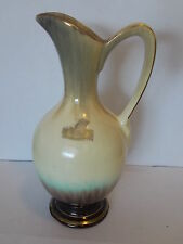Vintage Antique Collectable Retro KERAMIK West German Porcelain Jug Gold Cream