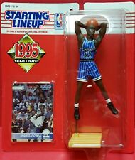 Shaquille O'neal Starting Lineup Action Figure And Card 1995 NBA Orlando Magic