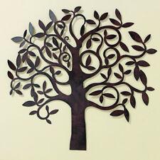 Wand Dekoration Baum 71cm Braun Eisen Bild Wanddeko Baumdekoration Baumdeko