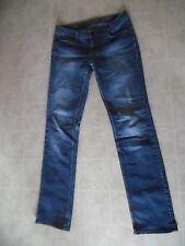 Esprit Denim 94107 Vintage Worn Look Medium Wash Stretch Boot Cut Jeans 29X34