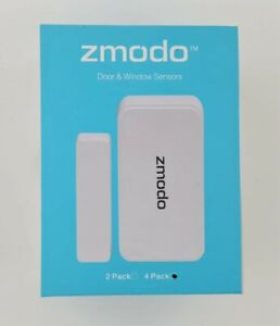 Zmodo™  Door / Window Sensors (4 Pack) White Color.