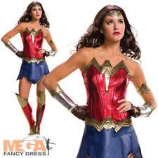 Sexy Wonder Woman Ladies Fancy Dress Dawn of Justice Superhero Adult Costume New