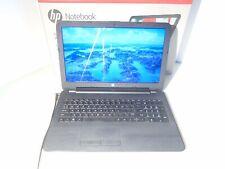 "HP 15.6"" 15-ba015wm AMD E2 Quad Core 4gb RAM 500 GB HD Notebook Laptop PC"