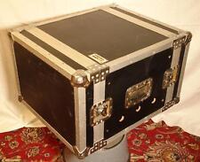 "Proel Cases Robust Heavy Duty 8U Flight Case 64cm x 53cm x 39cm 19"" Rack"