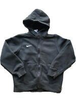 Girls Nike Black Tracksuit Top Hoodie Hooded Top 12-13 Years Clothes