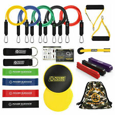 POWER GUIDANCE 21 Pcs Resistance Bands Set for Fitness Yoga Gym Training