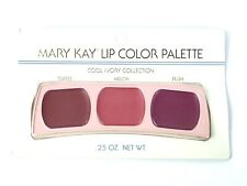 MARY KAY LIP COLOR PALETTE~COOL IVORY COLLECTION~TOFFEE, MELON & PLUM~DISC'TD!