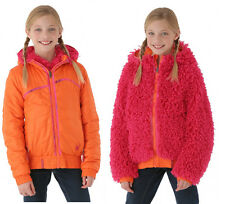Spyder Girls High-Pile Reversible Jacket 2-in-1,Size L (14/16 Girl's),NWT