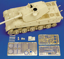 "ROYAL MODEL 1/35 -GERAN KING TIGER ""PORSCHE TURRET"""