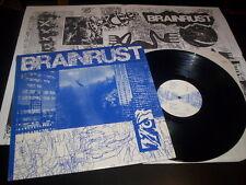 "Brain Rust ""Brain Rust"" LP poster Vinyl Communications – VC-7 Usa 1988"