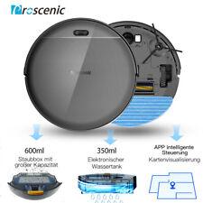 Proscenic 811GB Wi-Fi Staubsauger Roboter mit Wischfunktion - Blau/Schwarz (88.010802.20)