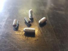 Grani di fermo 5927 zincati  M5 x 10mm a brugola testa a punta  10-20 x conf