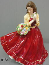 Royal Doulton Pretty Ladies CHARLOTTE Red Dress Figurine HN5382 NEW box