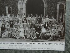 More details for ww1  portrait postcard  wounded cotherstone brancepeth, durham dh7 8df tow law