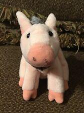 "Babe the Sheep Pig Plush Stuffed Animal 1997 Gund Toy 7"""