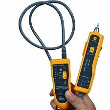 Network Lan Ethernet phone Cable Tester Wire Tracker Tracking Rj45 Rj11 Finder