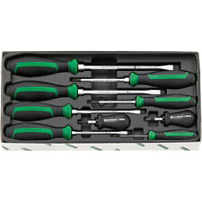 Stahlwille DRALL 9pc Screwdriver Set w/ Hex Bolster 4693