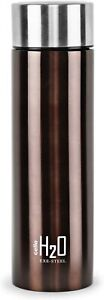 Stainless Steel Water Bottle Drinkware 1 Litre Brown