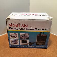 Simran SMF-200 Deluxe 200 Watts Step Down Voltage Converter for International...