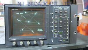 Tektronix 2 channel wfm601A SDI waveform vector scope  working order