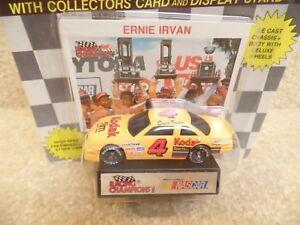 1991 Racing Champions 1:64 NASCAR Ernie Irvan Kodak Film Chevy Lumina  # a