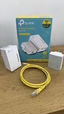 TP-LINK TL-WPA4220 KIT AV600 2-Port WiFi Powerline Extender