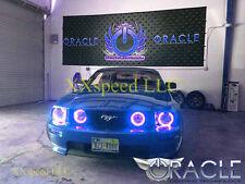 ORACLE Ford Mustang 2005-2009 BLUE LED Headlight + Foglight Halo Angel Eyes Kit