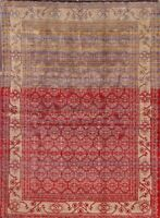 Brand New 225 Knots Geometric 5x7 Modern Area Rug Oriental Wool All-Over Carpet