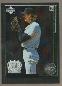 Randy Johnson 1999 Upper Deck 10th Anniversary Team Triple /100 Astros
