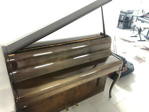 Klavier Steingräber& Söhne Modell Chippendale 1 Nußbaum Hochglanz