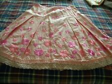NEW Embroidered Gore 100% Cotton skirt by Cynthia Steffe size 10