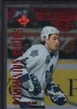 D. J. SMITH 1997/98 DONRUSS CANADIAN ICE #142 DOMINION MAPLE LEAFS SP #102/150