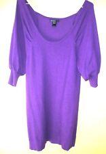 robe sous genoux taille  42/44  petites manches couleur  lilas marque Mango B