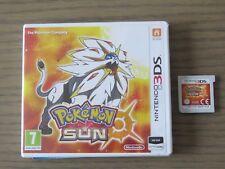 JEU NINTENDO 3DS POKEMON SOLEIL / POKEMON SUN  COMPLET