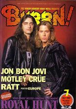 Burrn Jul/97 Royal Hunt Jon Bon Jivi Ratt Motley Crue